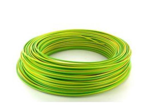 Cablu electric FY 2.5 Romcab culoare galben-verde