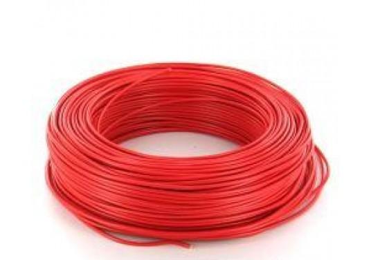 Cablu electric MYF 1.5 Romcab culoare rosu
