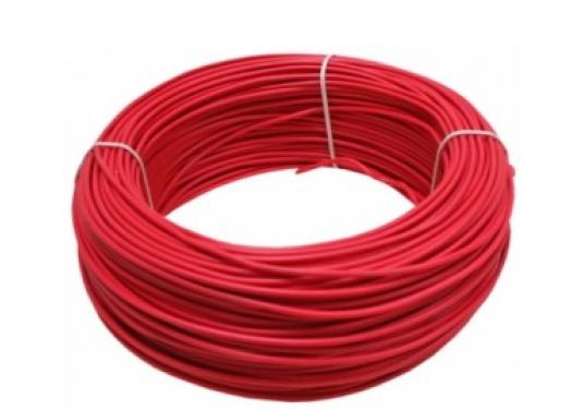 Cablu electric MYF 2.5 Romcab culoare rosu