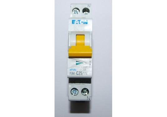 Siguranta automata bipolara 1P+N PLN4-C25 Eaton 263302